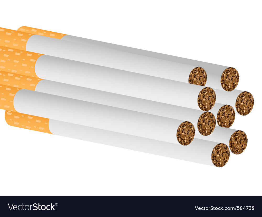 Filter cigarettes vector | Price: 1 Credit (USD $1)
