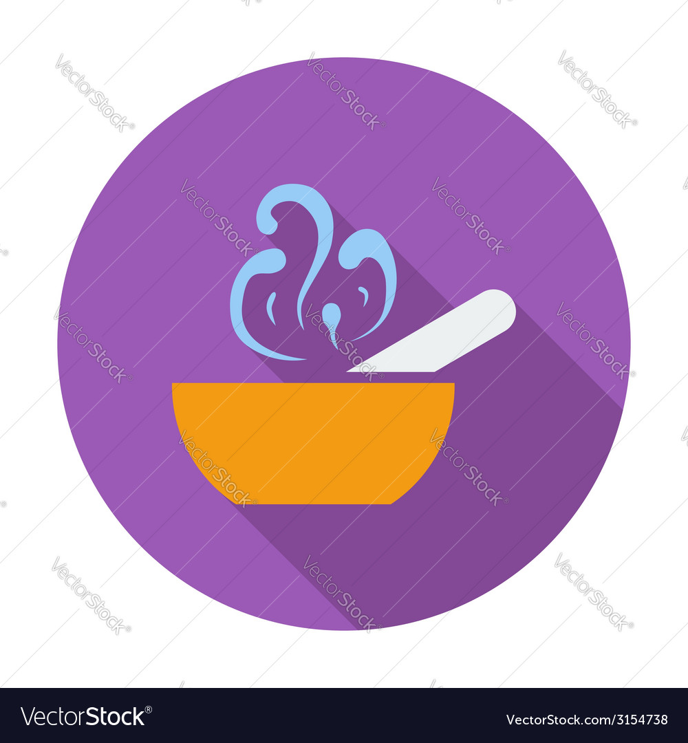Soup icon vector | Price: 1 Credit (USD $1)