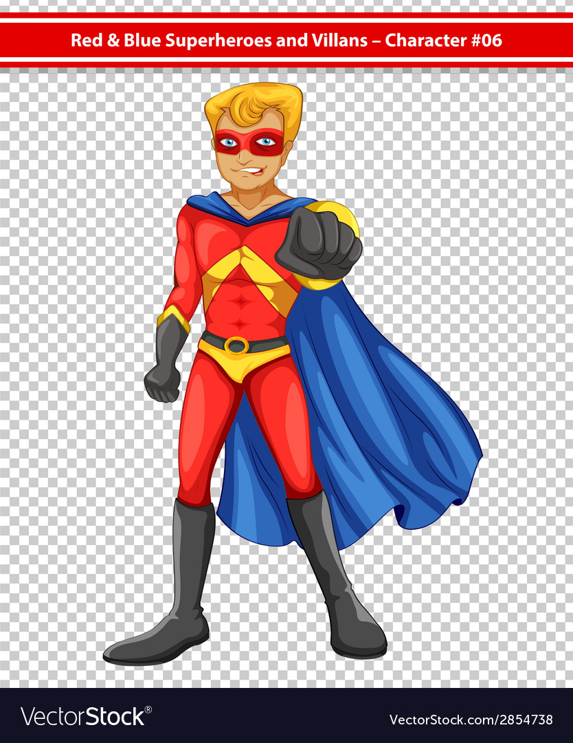 Superhero vector | Price: 3 Credit (USD $3)