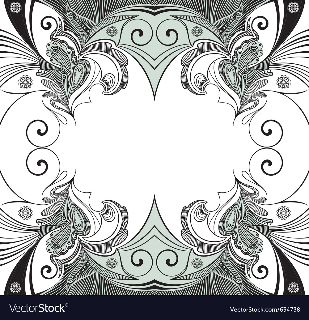 Vintage decoration vector | Price: 1 Credit (USD $1)