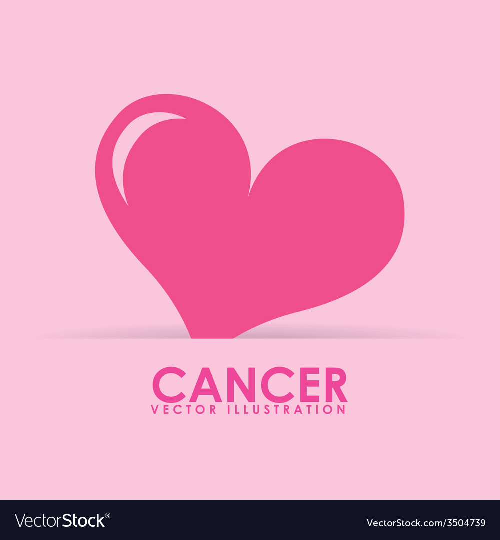 Breast cancer design vector | Price: 1 Credit (USD $1)