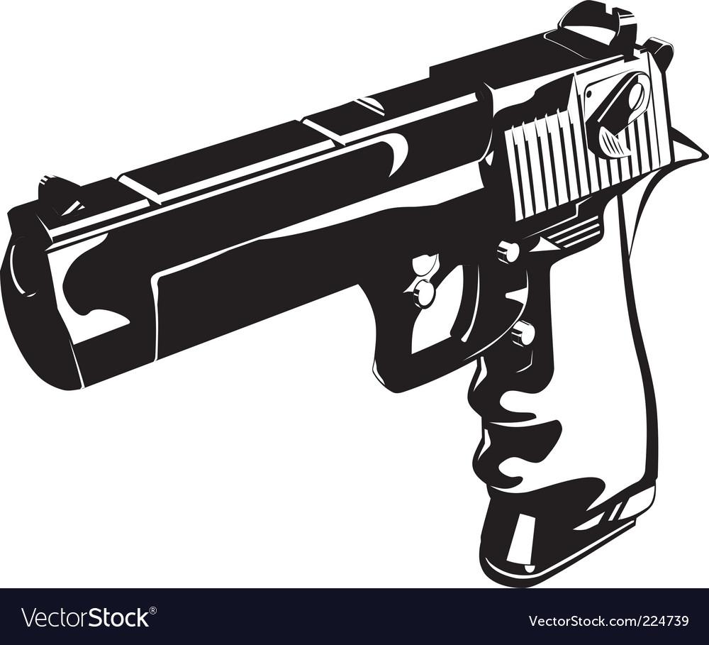 Glitch gun vector   Price: 1 Credit (USD $1)