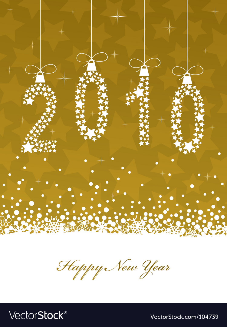 Happy new year vector | Price: 1 Credit (USD $1)