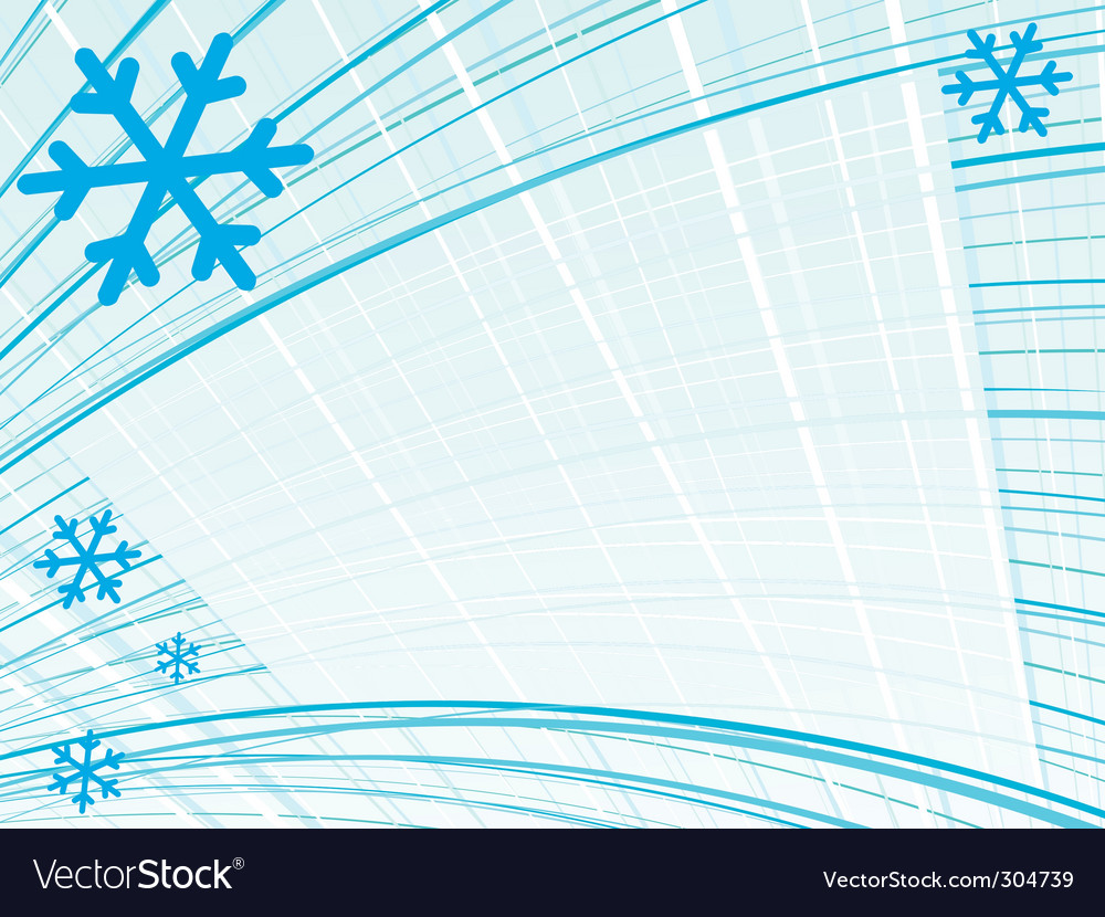 Lined snow vector | Price: 1 Credit (USD $1)