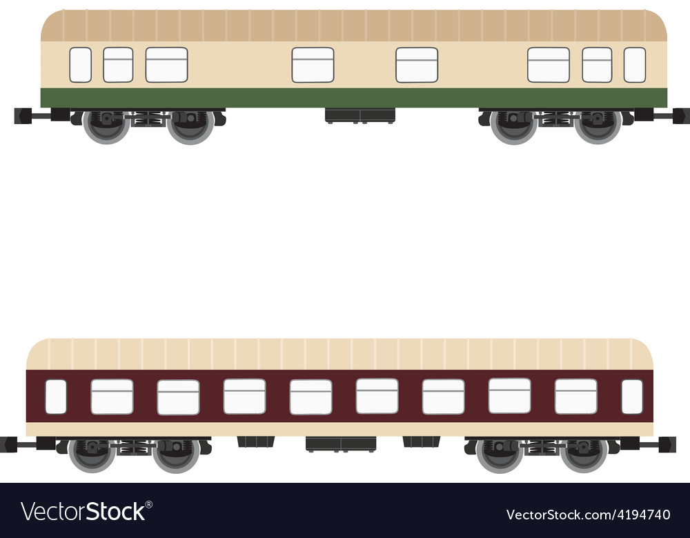 Passenger wagon vector | Price: 1 Credit (USD $1)
