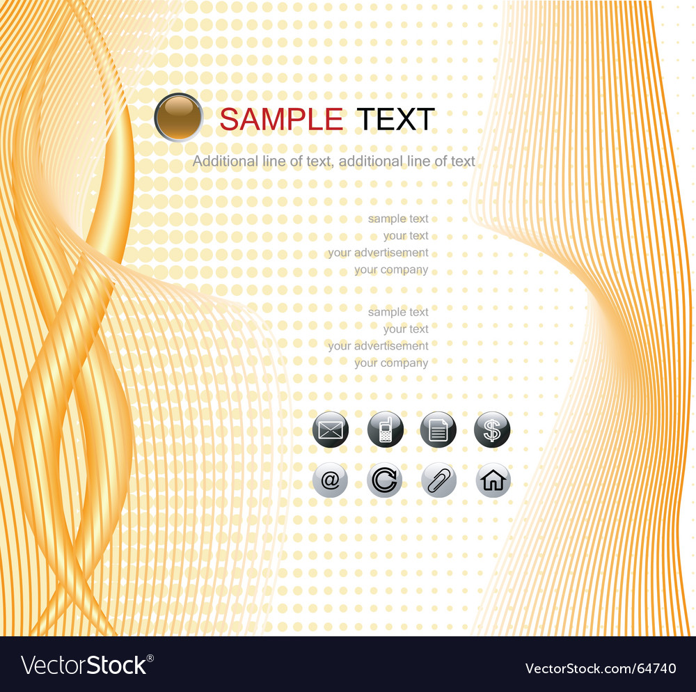 Web page template vector | Price: 1 Credit (USD $1)