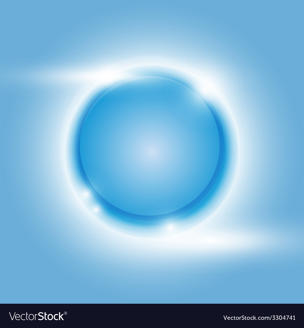 Design blue glow circle abstract background vector | Price: 1 Credit (USD $1)