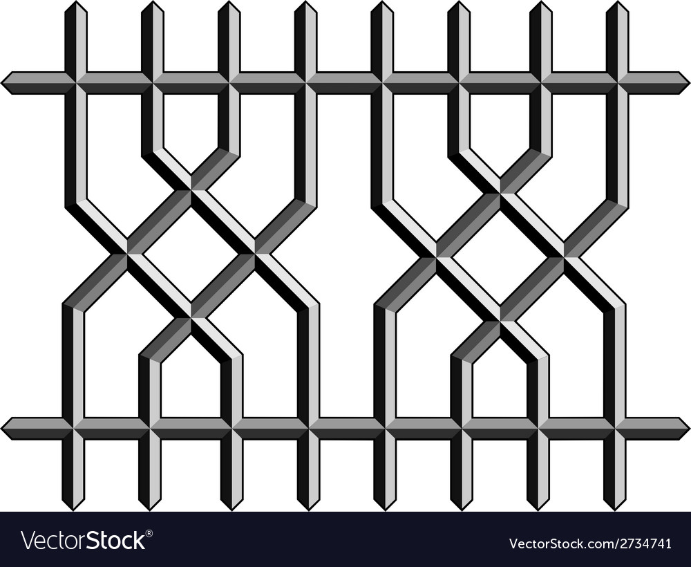 Metal ornate fence vector | Price: 1 Credit (USD $1)