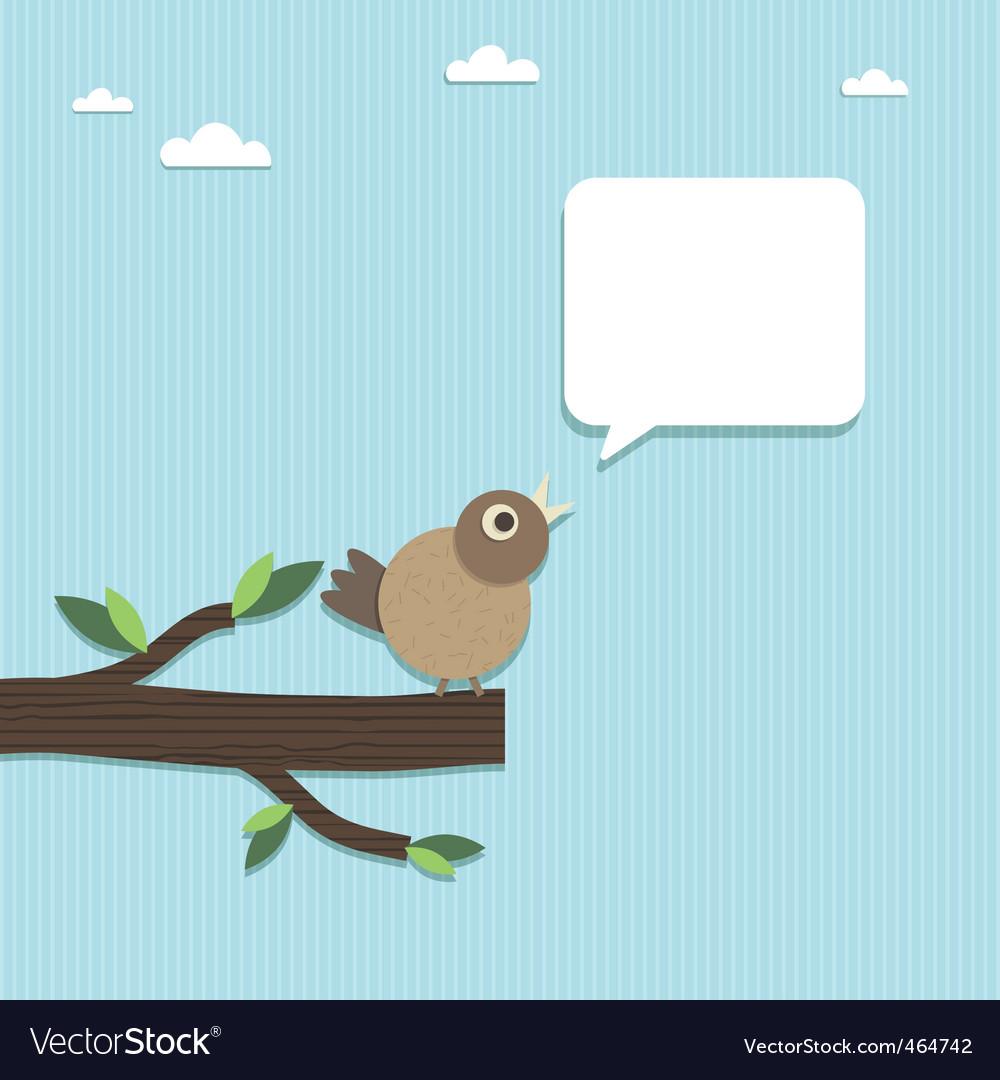 Paper bird vector | Price: 1 Credit (USD $1)