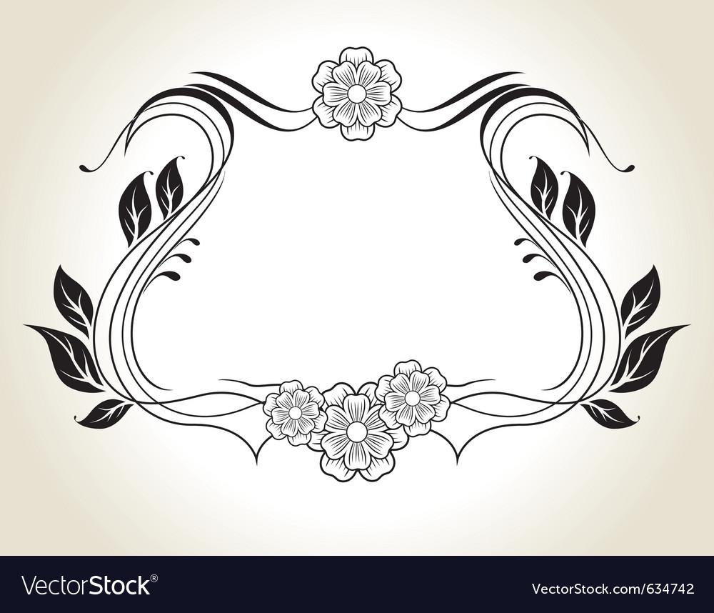 Vintage decoration vector | Price: 1 Credit (USD $1)