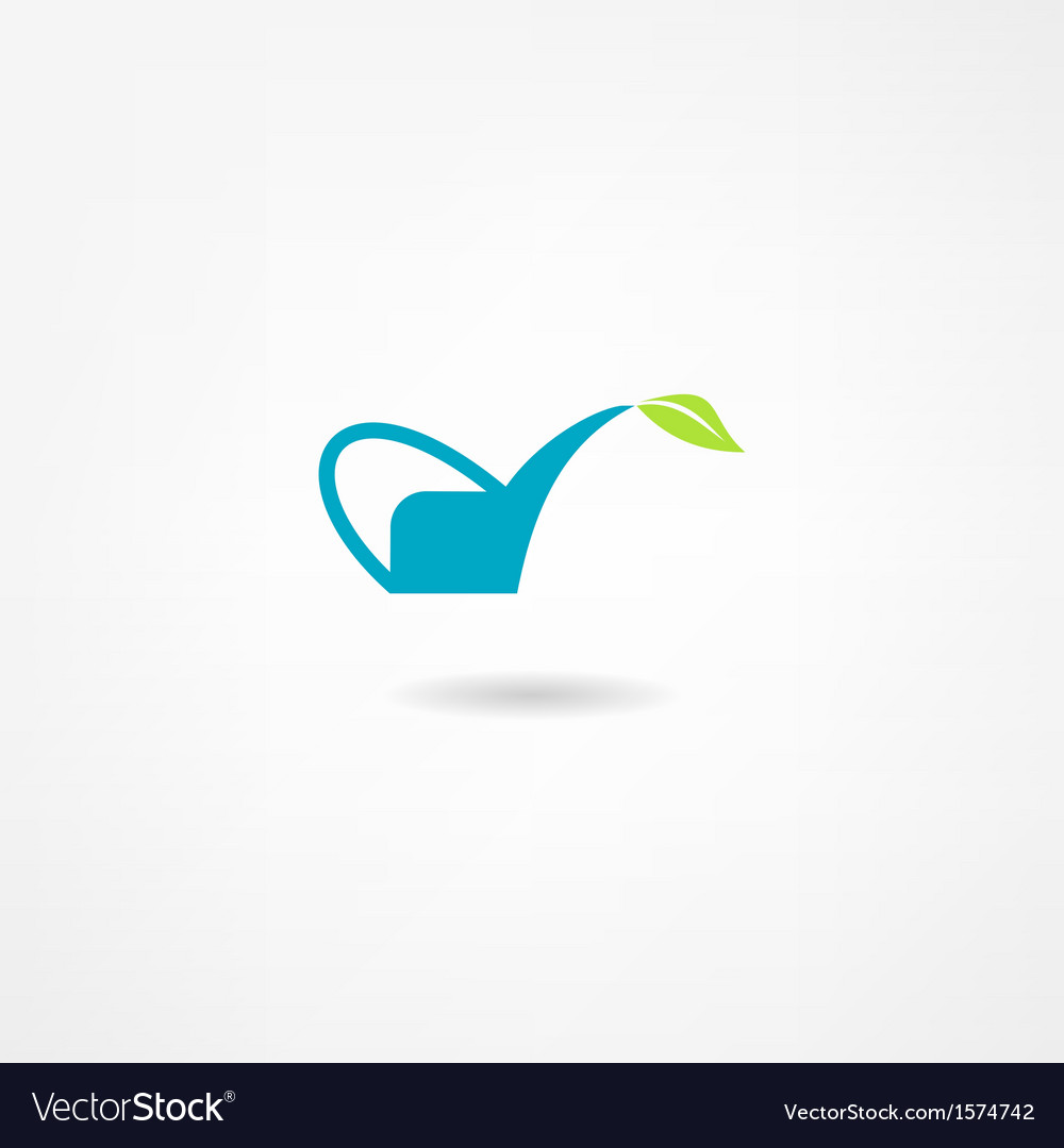 Watering icon vector | Price: 1 Credit (USD $1)