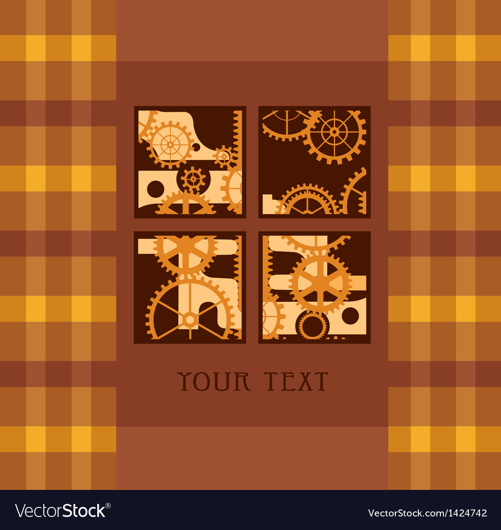 Yellow mechanism vector | Price: 1 Credit (USD $1)