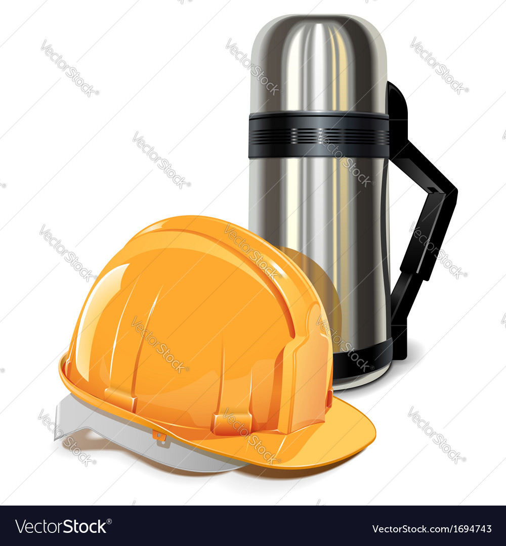 Thermos with helmet vector   Price: 1 Credit (USD $1)