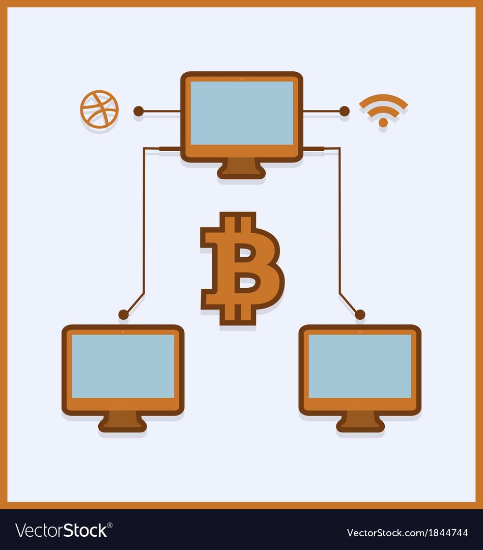 Bitcoin vector | Price: 1 Credit (USD $1)
