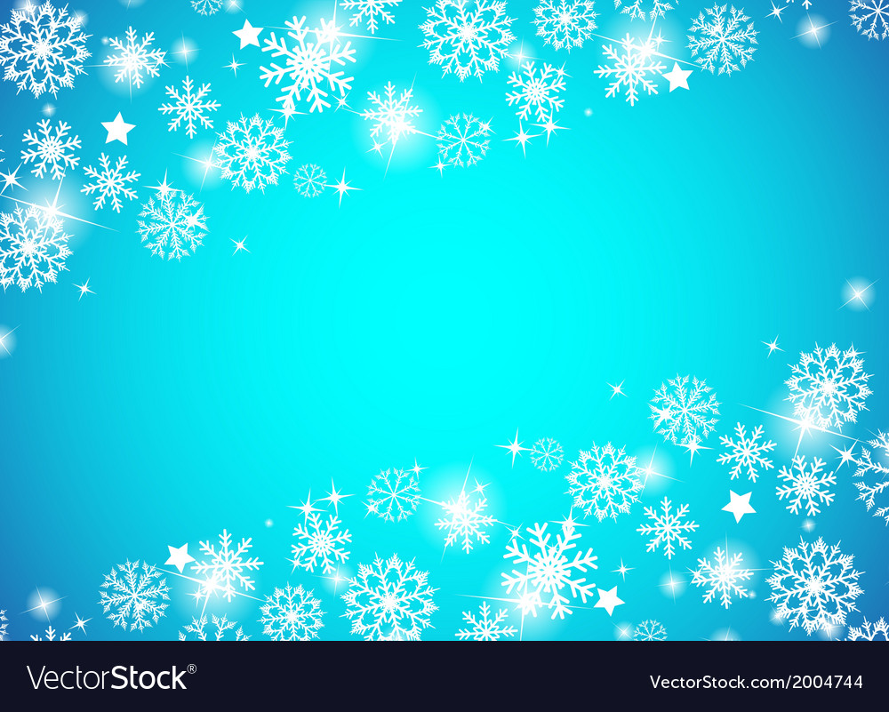 Christmas beautiful blue background vector   Price: 1 Credit (USD $1)