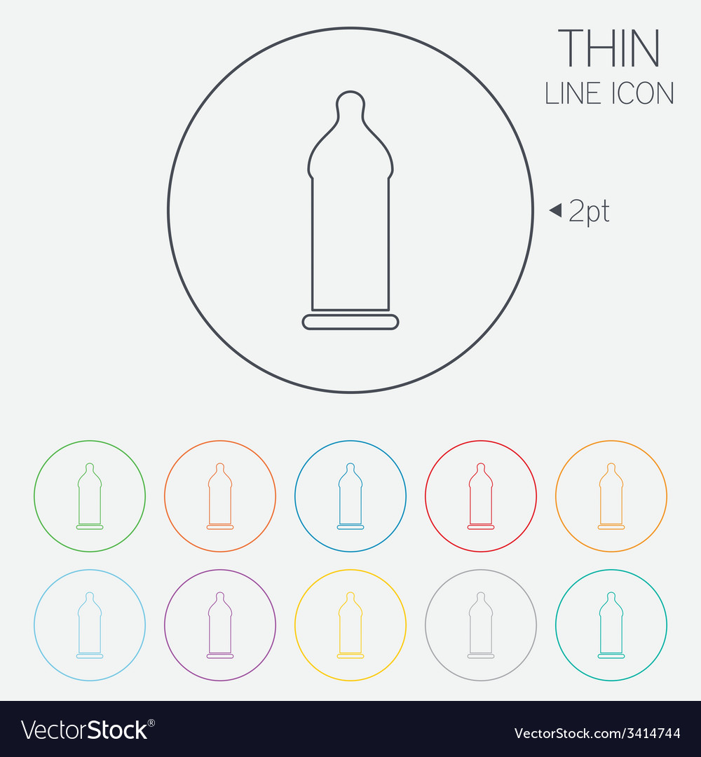 Condom safe sex sign icon safe love symbol vector   Price: 1 Credit (USD $1)