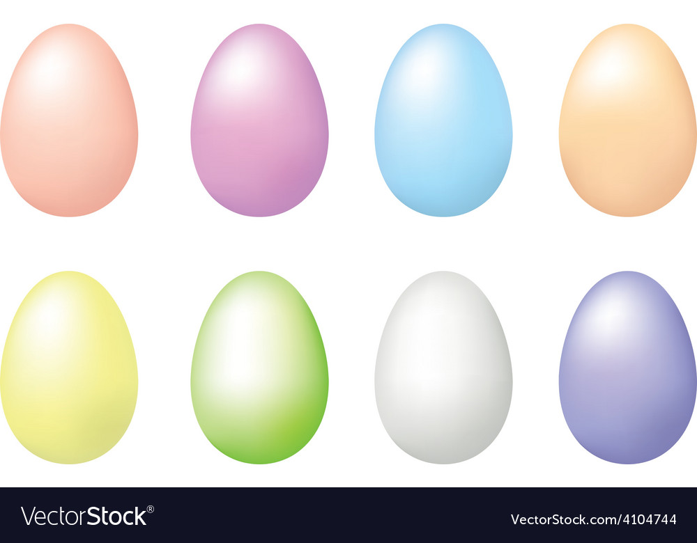 Eggs for easter vector | Price: 1 Credit (USD $1)