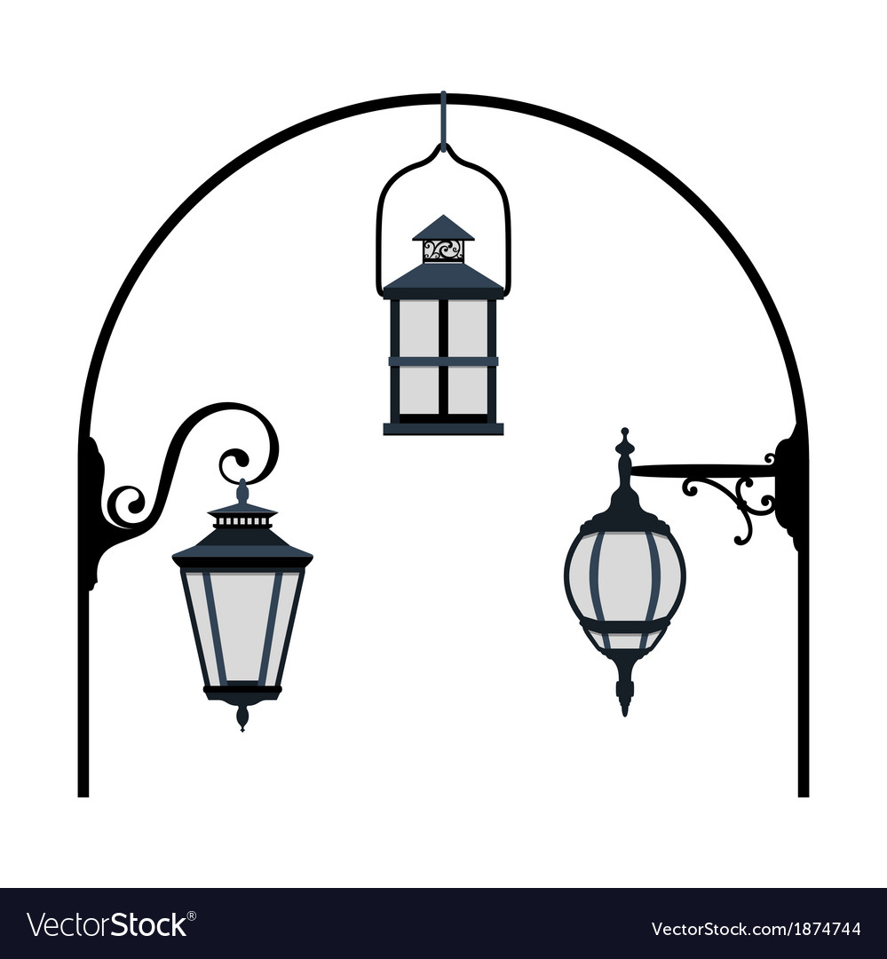 Lanterns vector | Price: 1 Credit (USD $1)