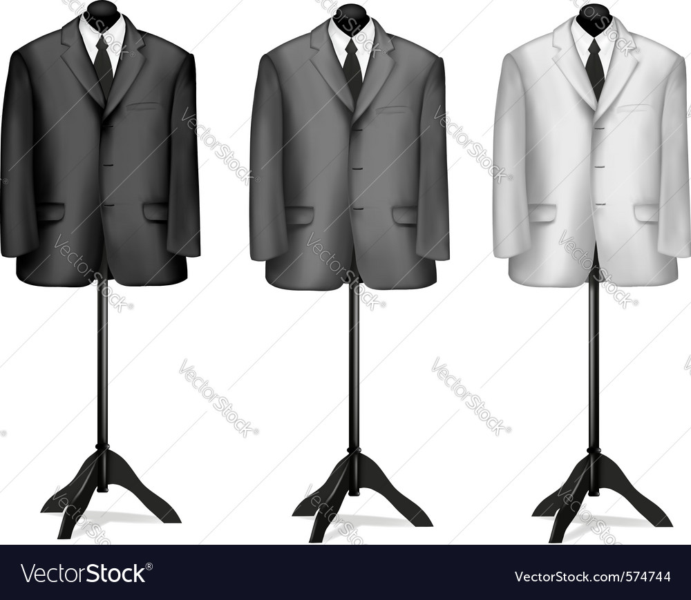 Mannequin suites vector | Price: 1 Credit (USD $1)