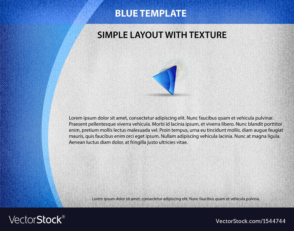 Template blue curve side vector | Price: 1 Credit (USD $1)