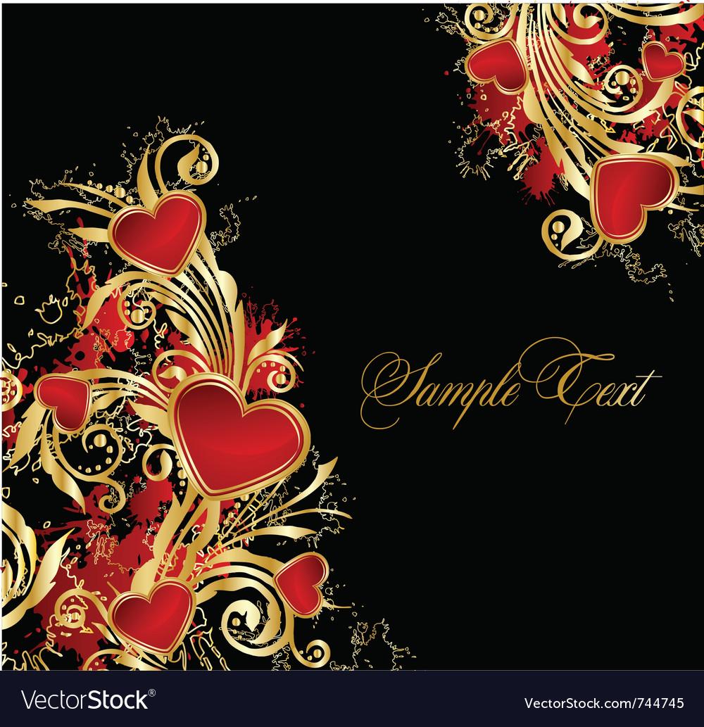 Elegance floral background vector | Price: 1 Credit (USD $1)