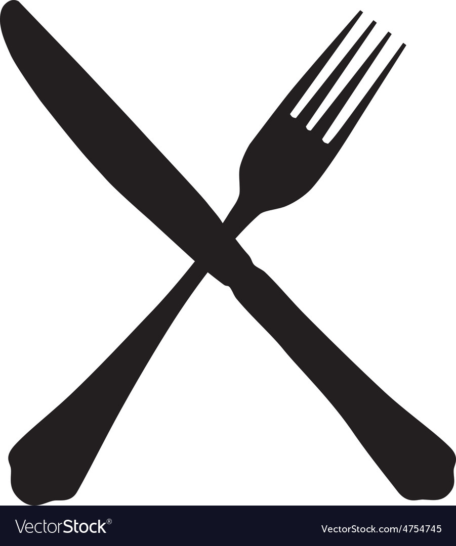 Fork and knife vector | Price: 1 Credit (USD $1)