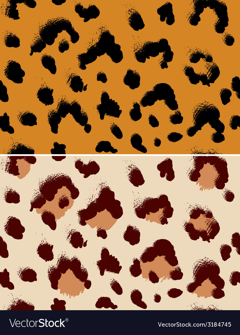 Leopard pattern vector | Price: 1 Credit (USD $1)
