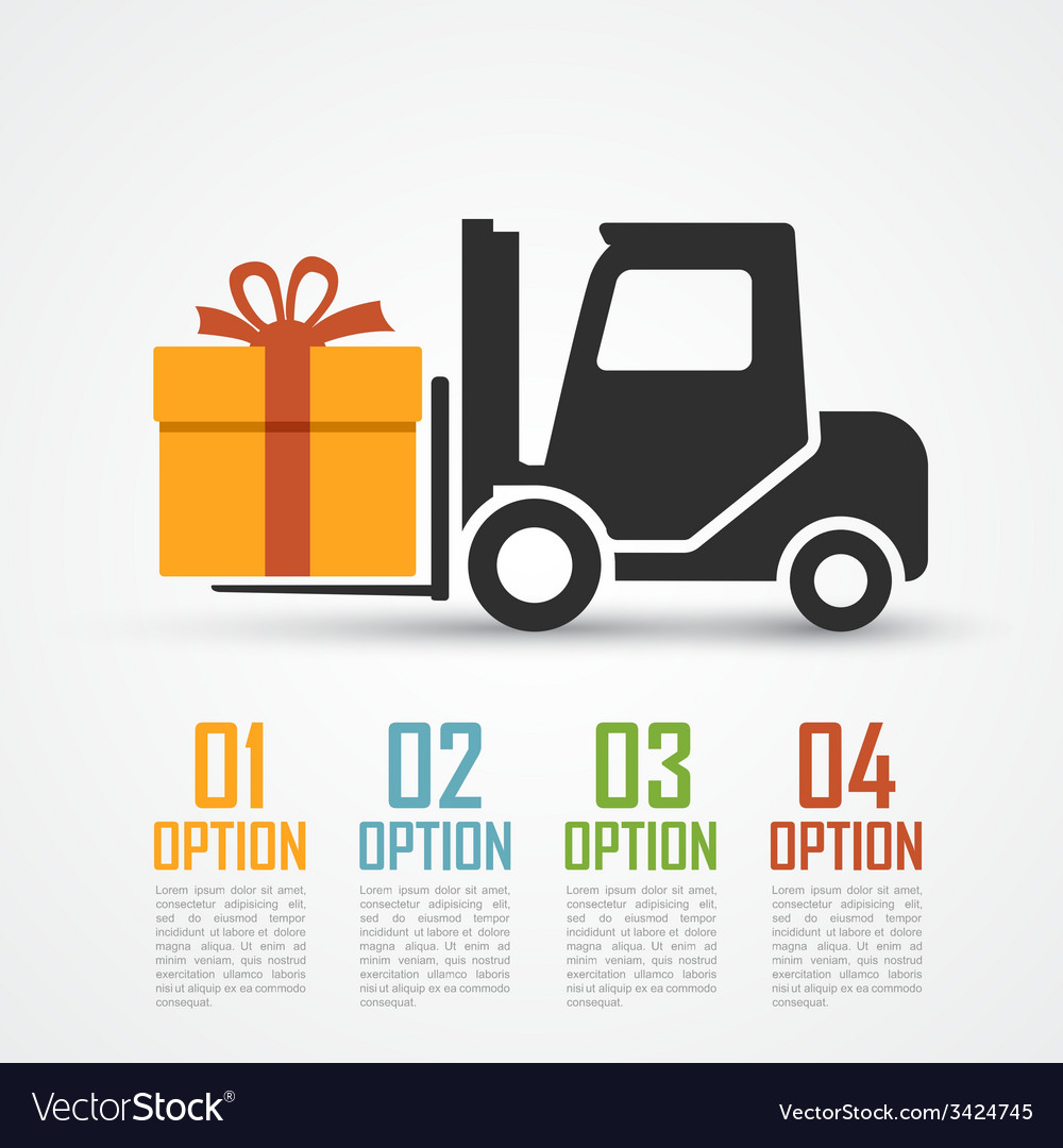 Loader with gift vector | Price: 1 Credit (USD $1)