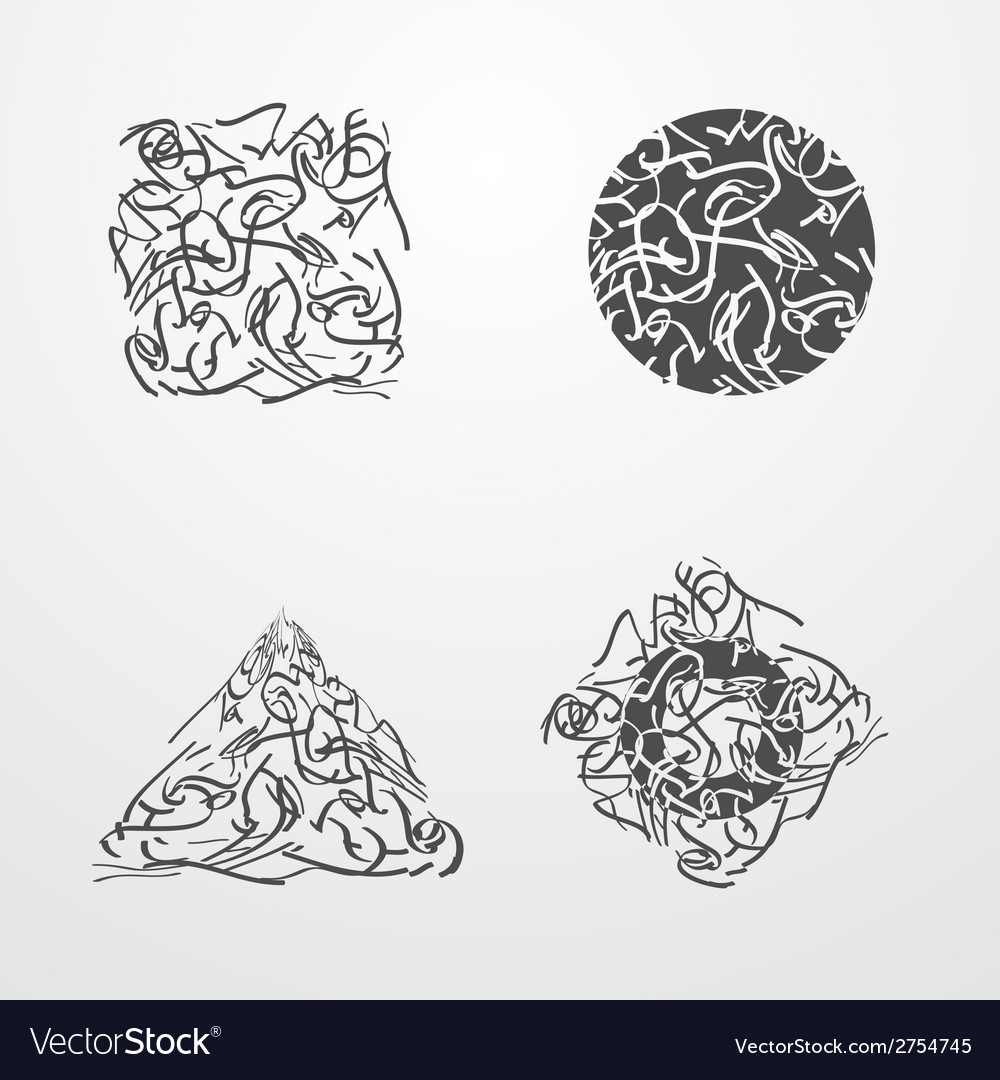 Scribble vector | Price: 1 Credit (USD $1)