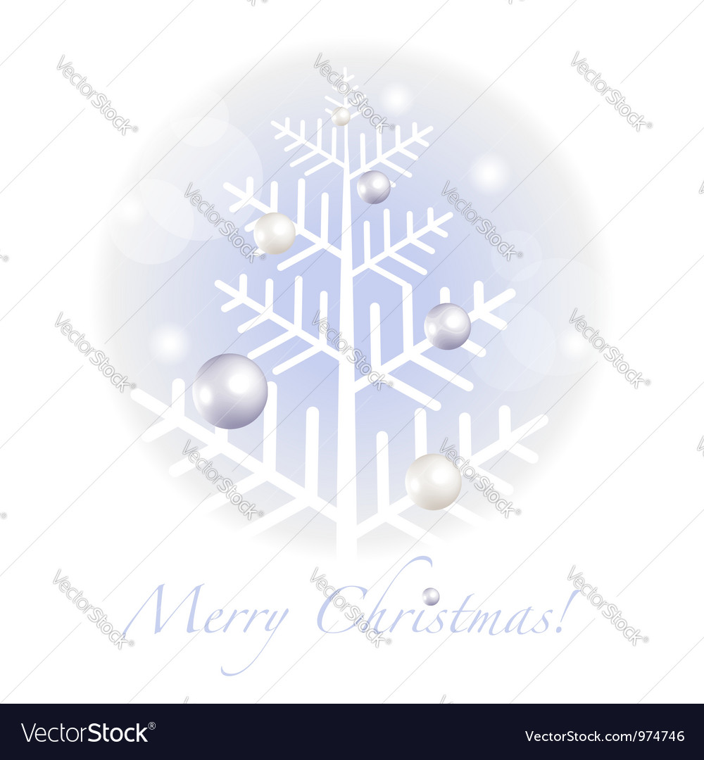Christmas greetings postcard vector | Price:  Credit (USD $)