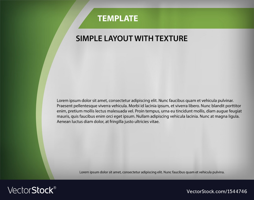 Template green curve side vector | Price: 1 Credit (USD $1)