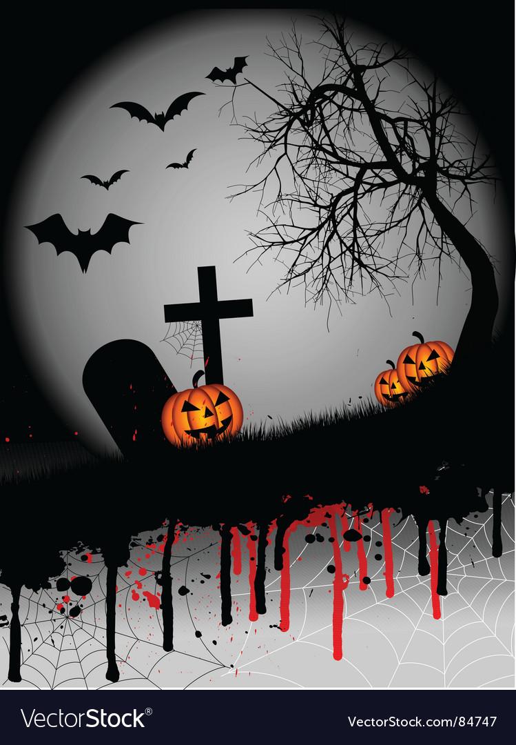 Grunge halloween vector | Price: 1 Credit (USD $1)