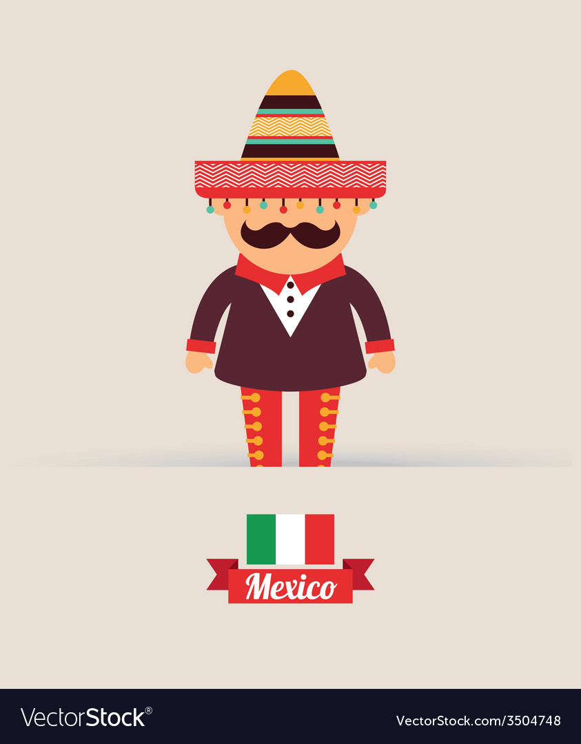 Mexico design vector | Price: 1 Credit (USD $1)