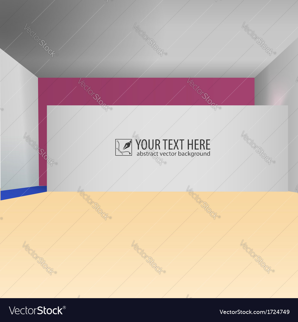 Abstract interior creative background vector | Price: 1 Credit (USD $1)