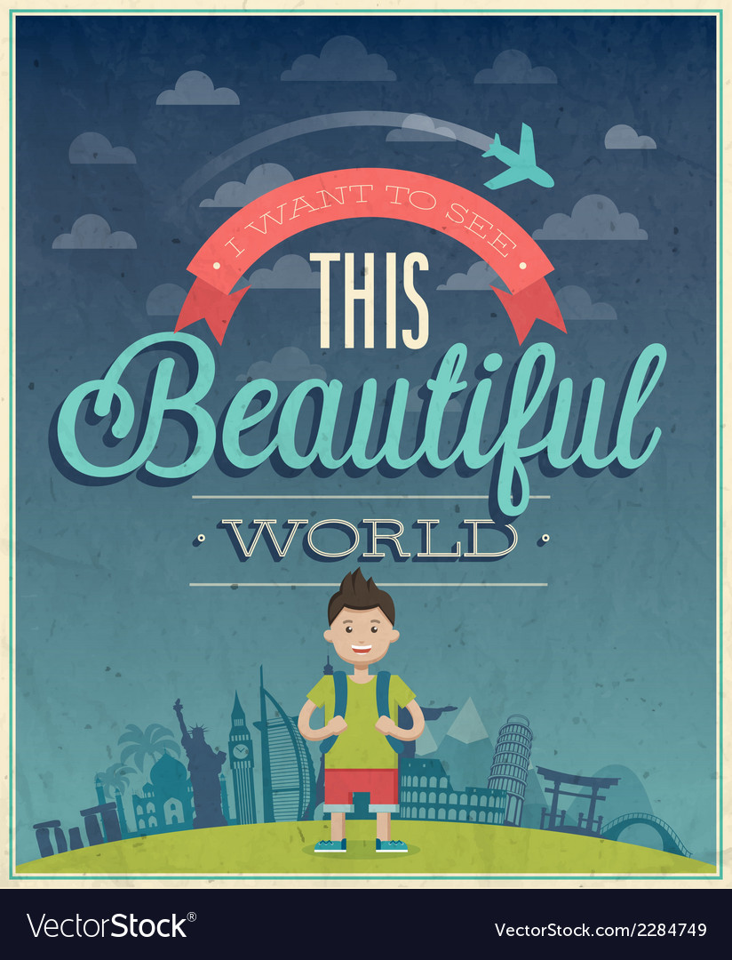 Beautiful world vector | Price: 1 Credit (USD $1)