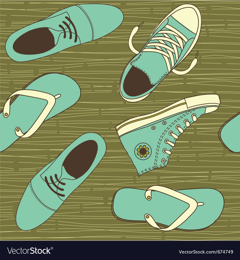 Shoe wallpaper vector | Price: 1 Credit (USD $1)