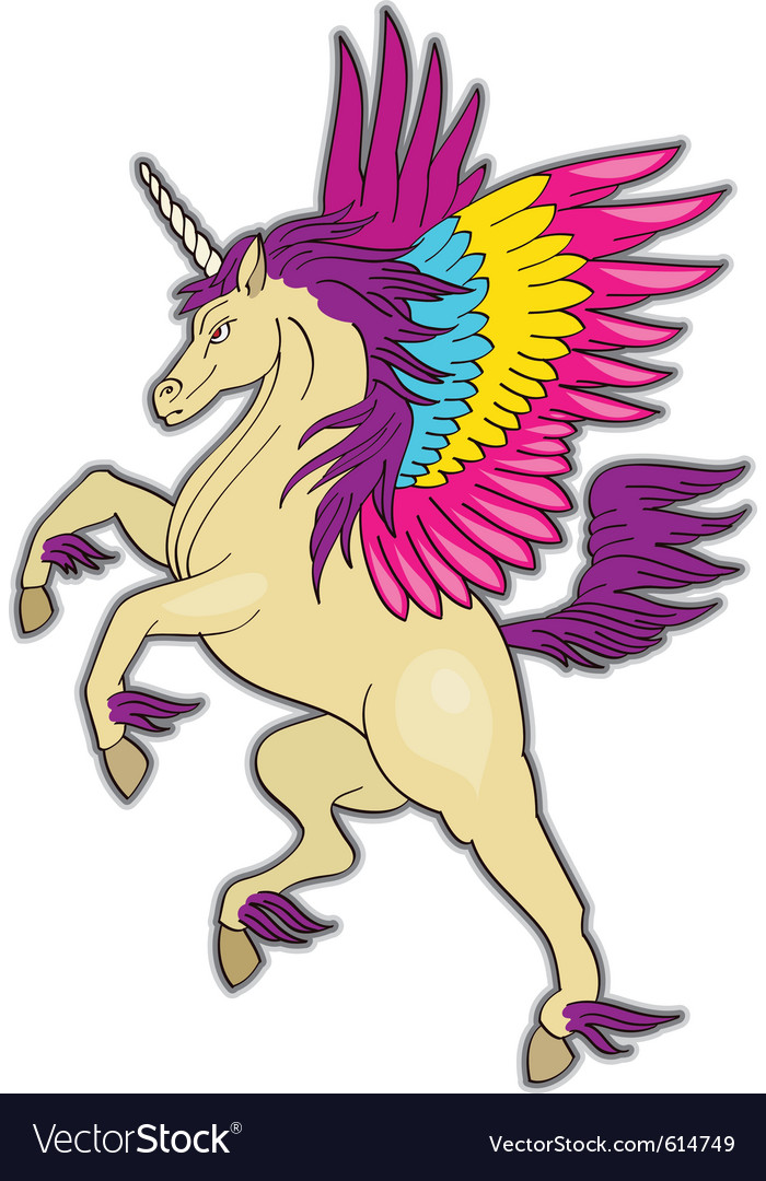 Unicorn vector | Price: 1 Credit (USD $1)