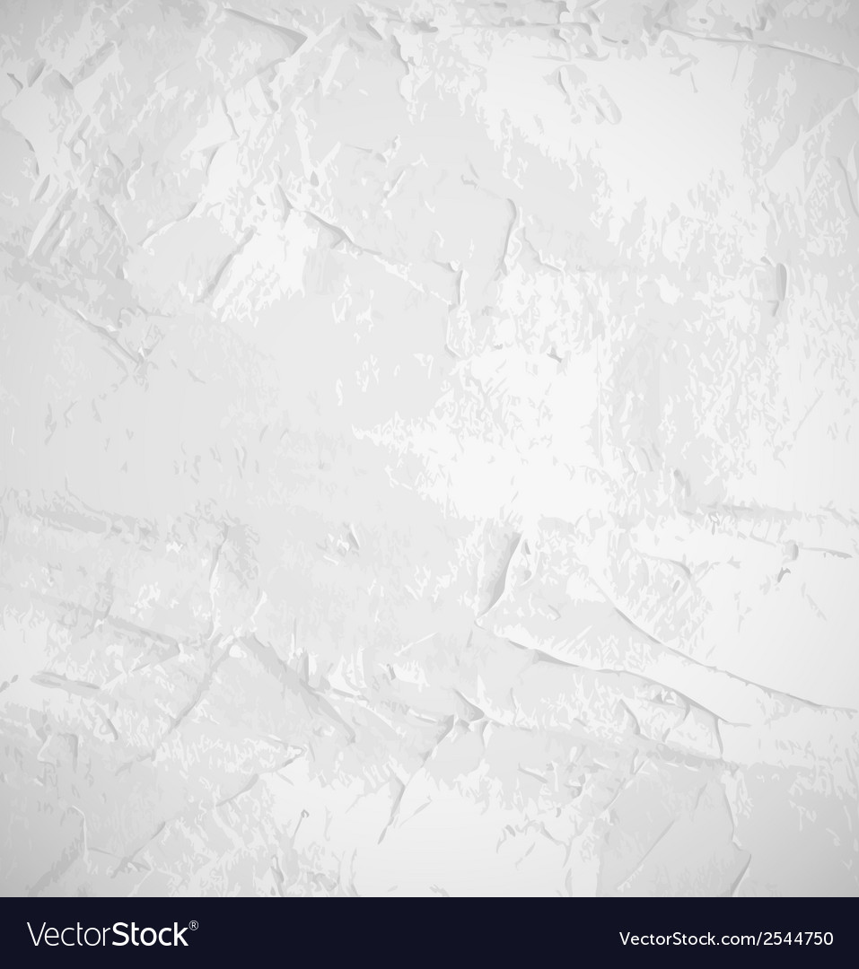 Abstract white old grunge wall background vector | Price: 1 Credit (USD $1)
