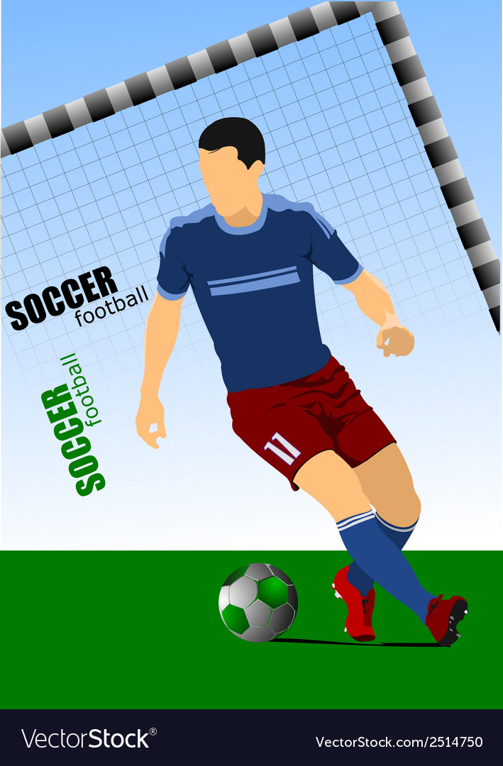 Al 0214 football 02 vector | Price: 1 Credit (USD $1)