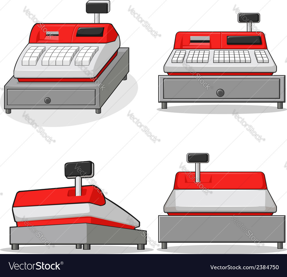 Cashier machine vector | Price: 1 Credit (USD $1)