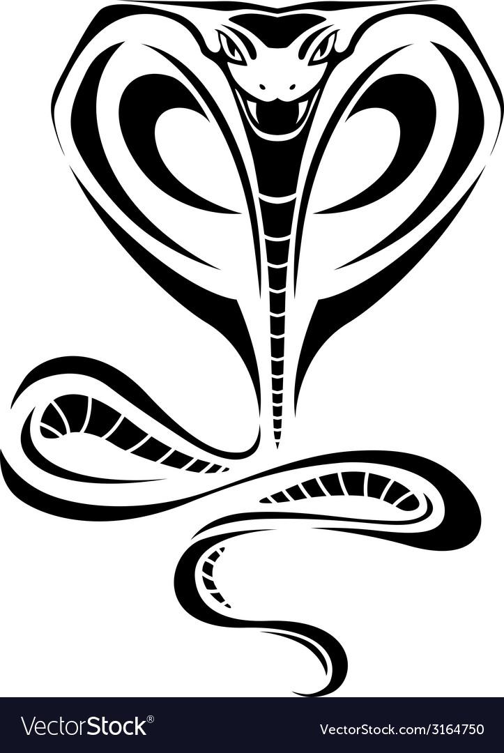 Cobra tattoo vector | Price: 1 Credit (USD $1)