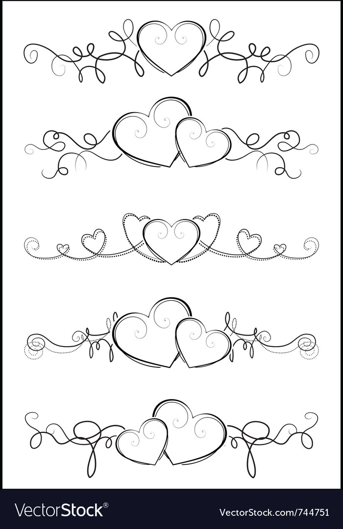 Elegant valentine design vector | Price: 1 Credit (USD $1)