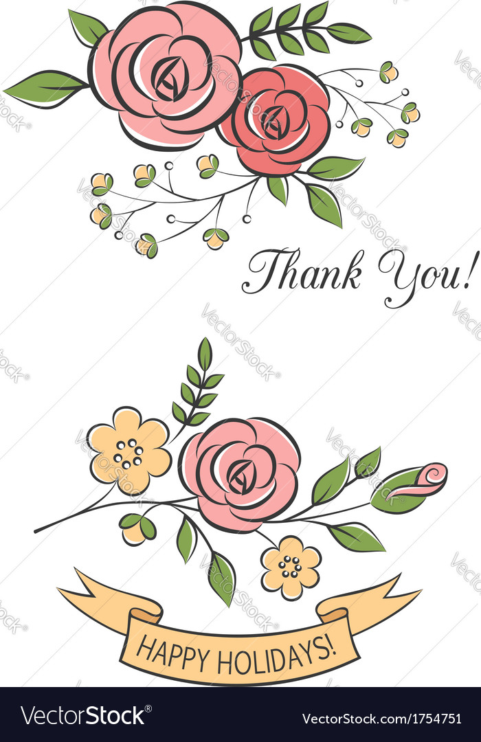Floral bouquets vector   Price:  Credit (USD $)