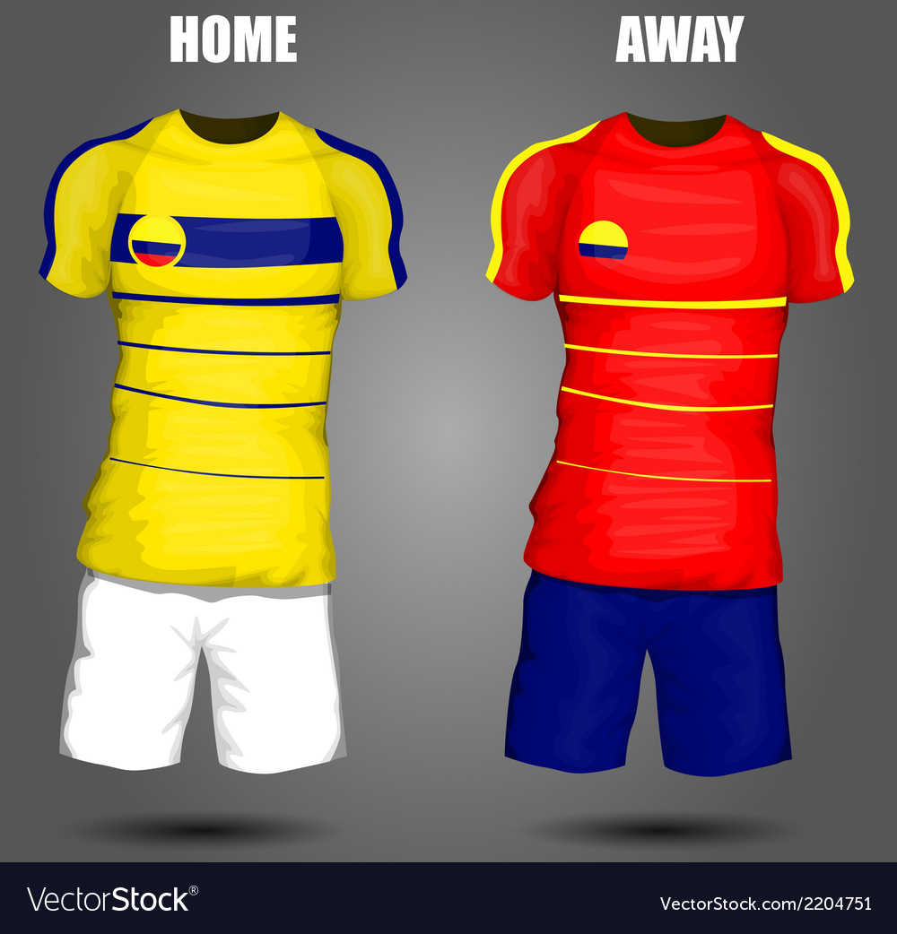 Football soccer jersey vector | Price: 1 Credit (USD $1)
