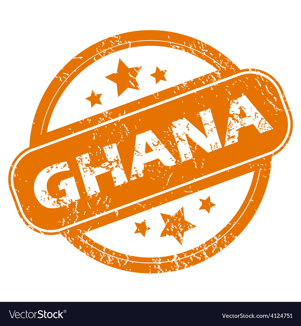 Ghana grunge icon vector | Price: 1 Credit (USD $1)