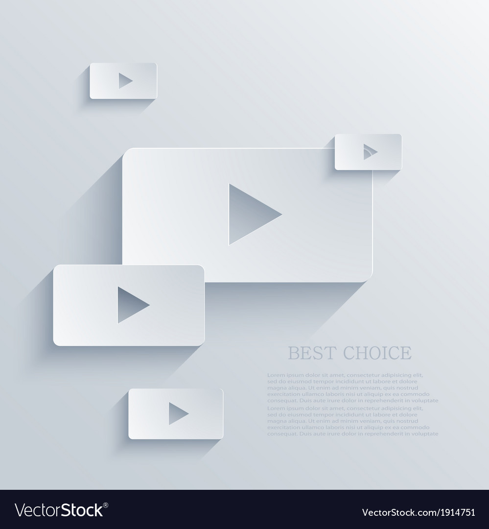Play background eps10 vector | Price: 1 Credit (USD $1)