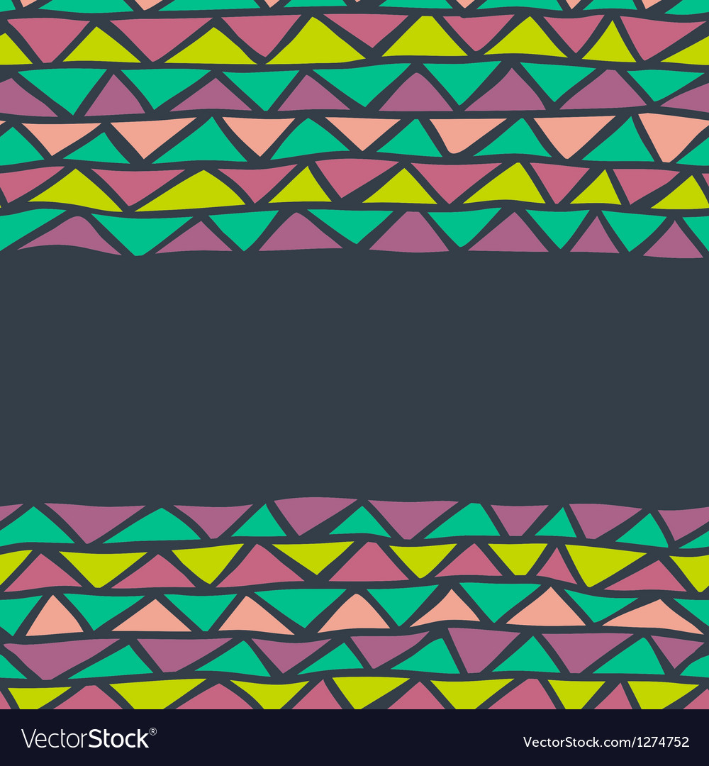 Abstract triangle seamless background vector | Price: 1 Credit (USD $1)