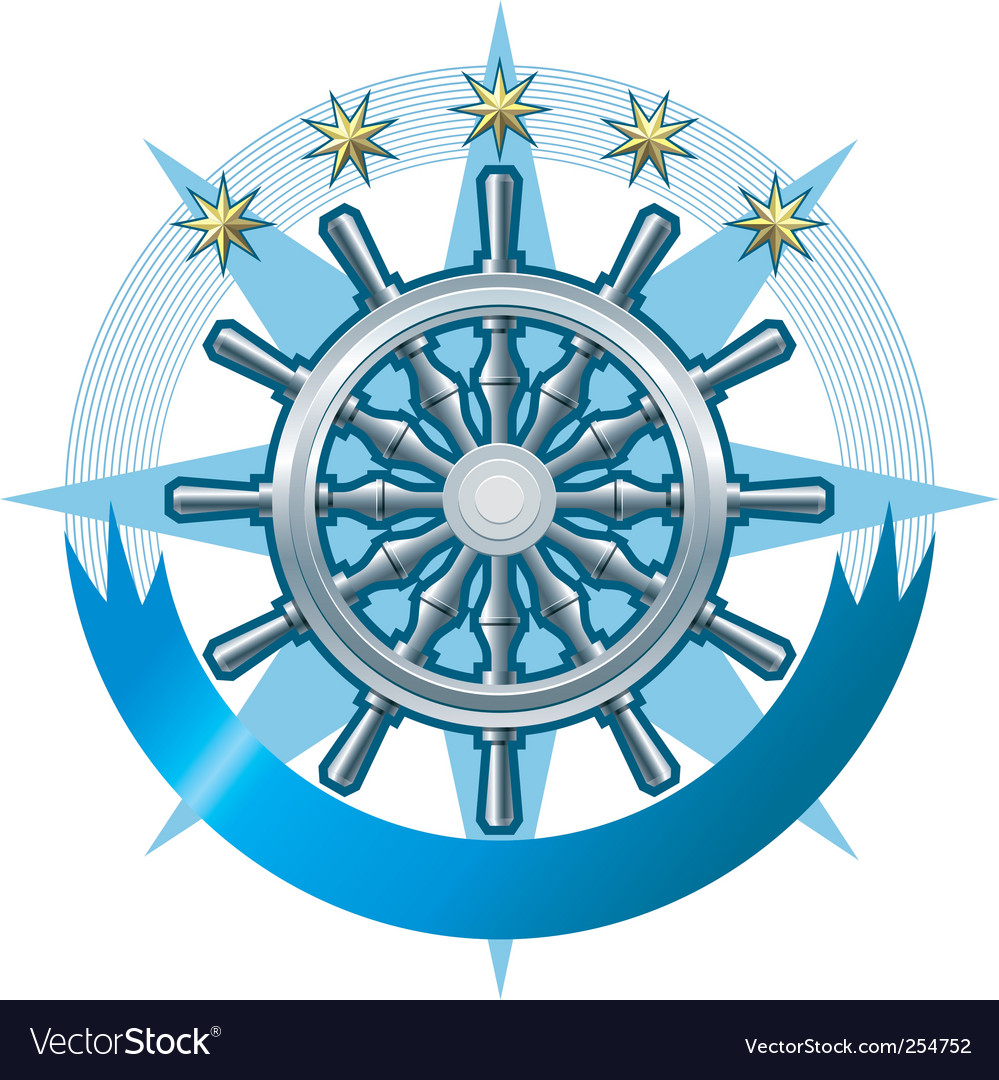 Marine emblem vector | Price: 1 Credit (USD $1)
