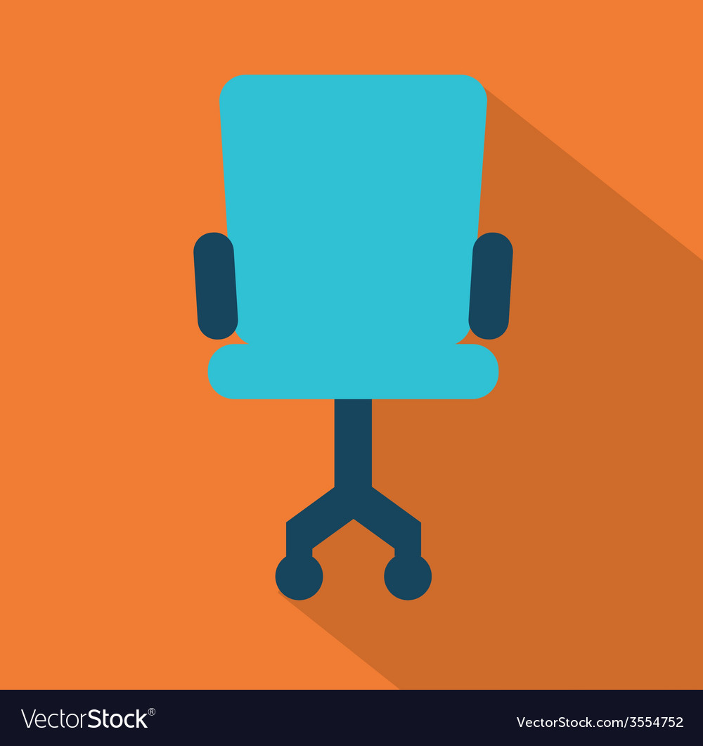 Office chair design vector | Price: 1 Credit (USD $1)