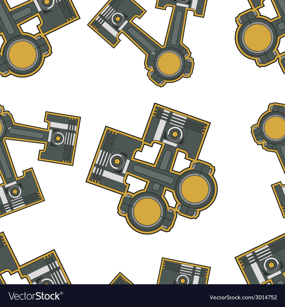 Piston seamless vector | Price: 1 Credit (USD $1)